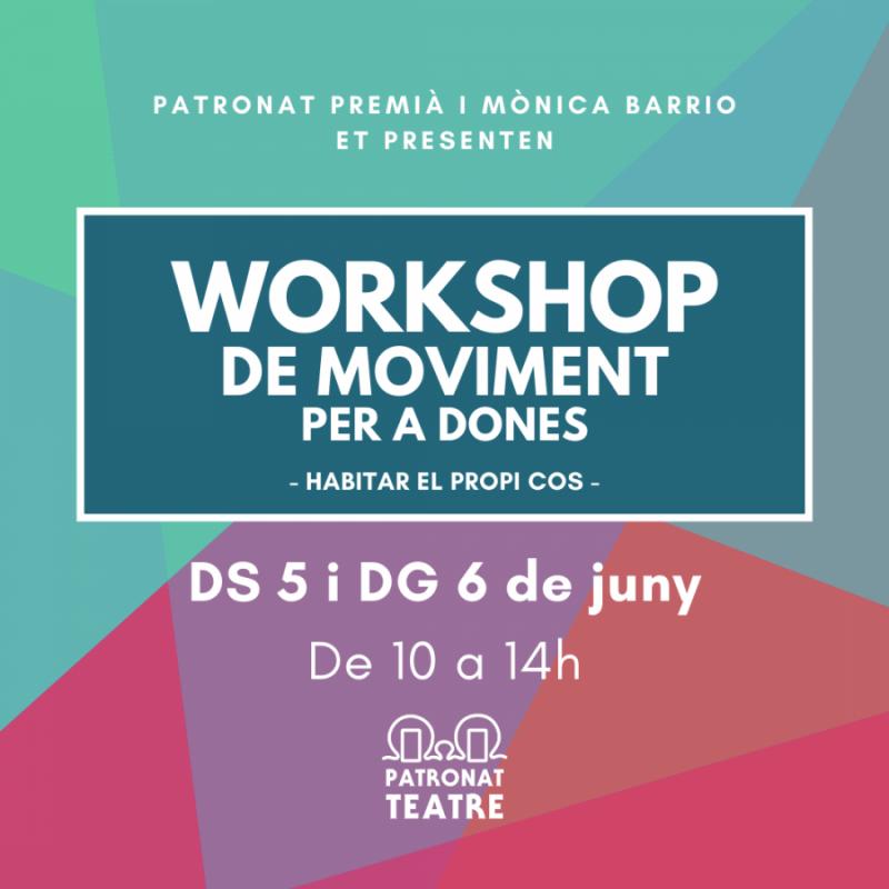 Workshop moviment JUNY